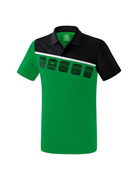 5-C Poloshirt Männer